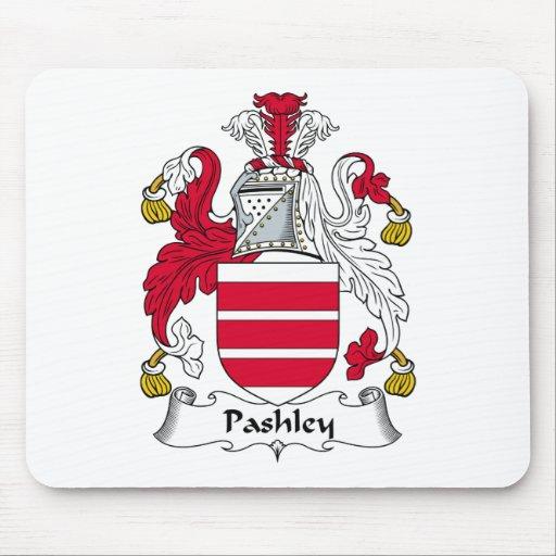 Escudo de la familia de Pashley Alfombrillas De Ratón