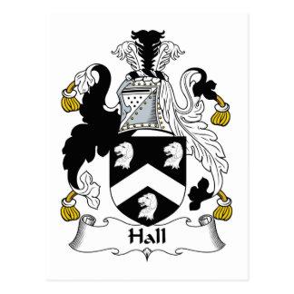 Escudo de la familia de Pasillo Tarjetas Postales