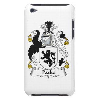 Escudo de la familia de Paske Case-Mate iPod Touch Protectores