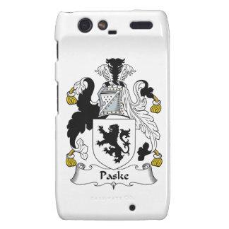 Escudo de la familia de Paske Motorola Droid RAZR Carcasa