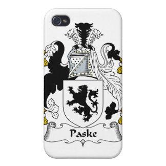 Escudo de la familia de Paske iPhone 4 Carcasa