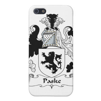 Escudo de la familia de Paske iPhone 5 Cárcasa