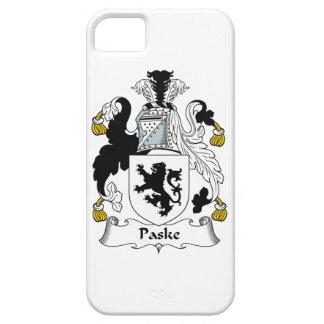 Escudo de la familia de Paske iPhone 5 Fundas