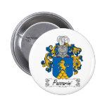 Escudo de la familia de Passarini Pins