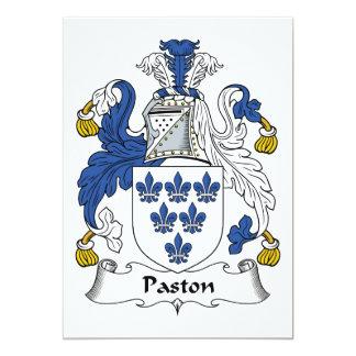 Escudo de la familia de Paston Comunicado