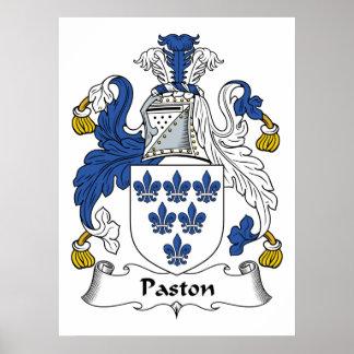 Escudo de la familia de Paston Impresiones