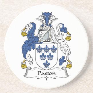 Escudo de la familia de Paston Posavasos Para Bebidas