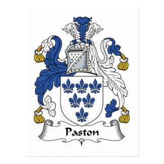 Escudo de la familia de Paston Postal