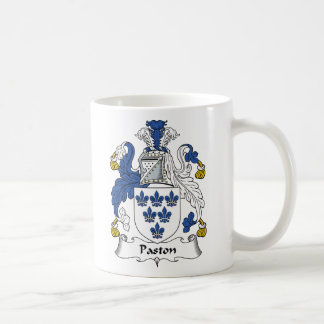 Escudo de la familia de Paston Taza