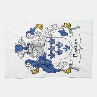 Escudo de la familia de Paston Toalla De Mano