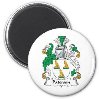 Escudo de la familia de Paterson Imán Redondo 5 Cm
