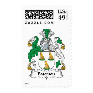 Escudo de la familia de Paterson Envio