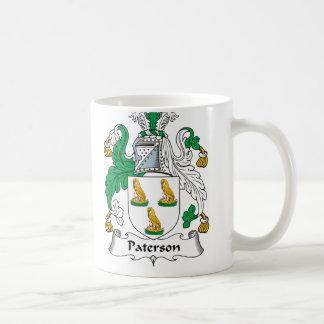 Escudo de la familia de Paterson Taza Clásica