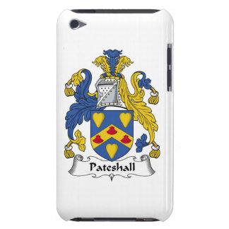 Escudo de la familia de Pateshall Case-Mate iPod Touch Cárcasa