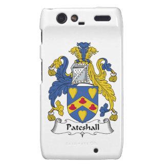 Escudo de la familia de Pateshall Motorola Droid RAZR Funda