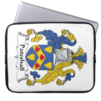 Escudo de la familia de Pateshall Funda Ordendadores