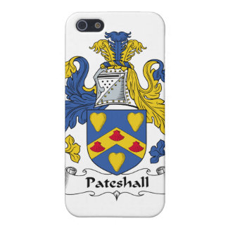 Escudo de la familia de Pateshall iPhone 5 Fundas
