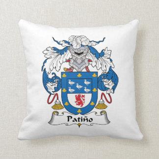 Escudo de la familia de Patino Almohada