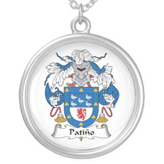 Escudo de la familia de Patino Colgantes