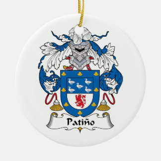 Escudo de la familia de Patino Adornos