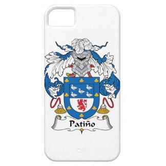 Escudo de la familia de Patino iPhone 5 Case-Mate Funda