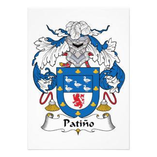 Escudo de la familia de Patino Anuncios
