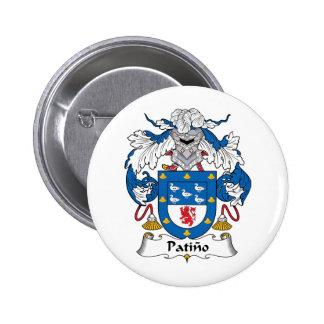 Escudo de la familia de Patino Pins