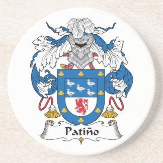 Escudo de la familia de Patino Posavasos Cerveza