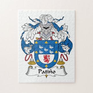 Escudo de la familia de Patino Rompecabezas