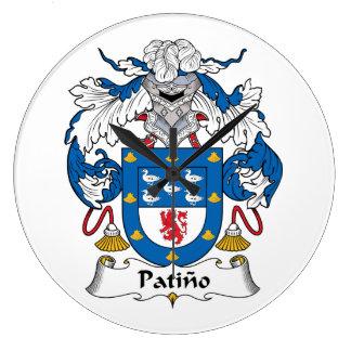 Escudo de la familia de Patino Reloj