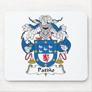 Escudo de la familia de Patino Alfombrilla De Ratones
