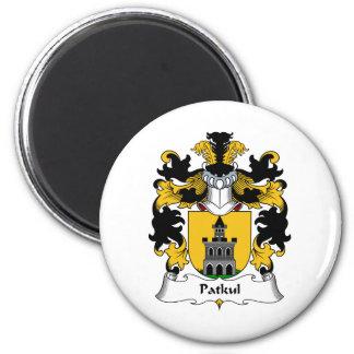 Escudo de la familia de Patkul Imán Redondo 5 Cm