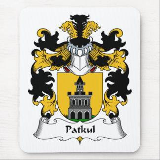 Escudo de la familia de Patkul Alfombrillas De Ratón