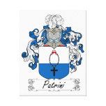 Escudo de la familia de Patrini Impresiones En Lona