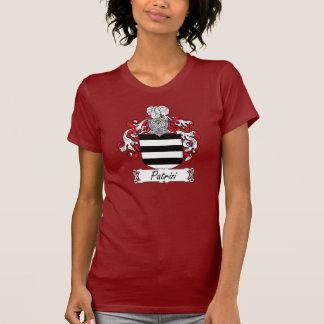 Escudo de la familia de Patrizi Camisetas