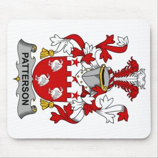Escudo de la familia de Patterson Mouse Pads