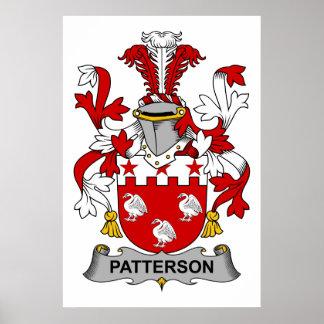 Escudo de la familia de Patterson Impresiones