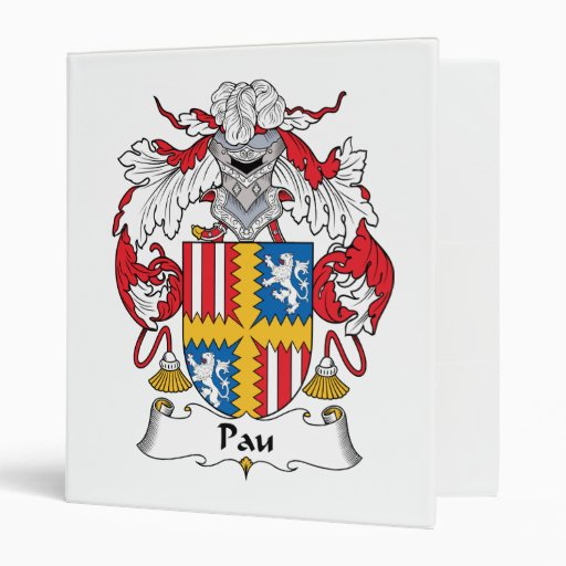 """Escudo de la familia de Pau Carpeta 1"""""""