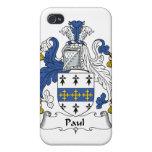 Escudo de la familia de Paul iPhone 4/4S Carcasa