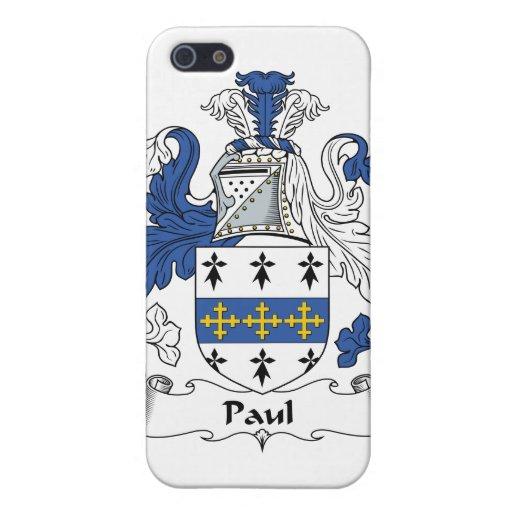 Escudo de la familia de Paul iPhone 5 Cobertura