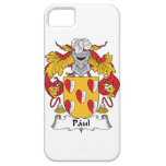 Escudo de la familia de Paul iPhone 5 Funda