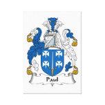 Escudo de la familia de Paul Lona Envuelta Para Galerías