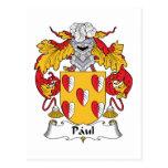 Escudo de la familia de Paul Postal