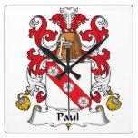 Escudo de la familia de Paul Relojes