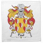 Escudo de la familia de Paul Servilletas