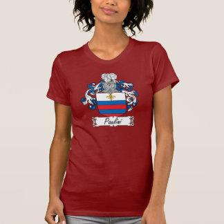 Escudo de la familia de Paulini Camisetas