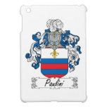 Escudo de la familia de Paulini iPad Mini Funda