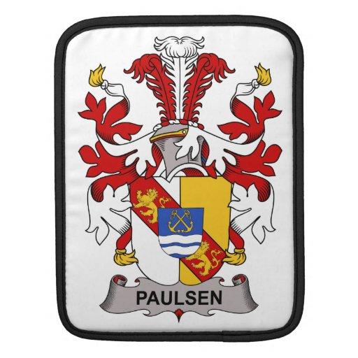 Escudo de la familia de Paulsen Fundas Para iPads