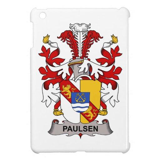 Escudo de la familia de Paulsen iPad Mini Cárcasa