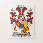 Escudo de la familia de Paulsen Rompecabezas